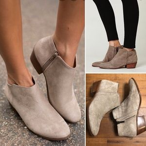 Sam Edelman Petty Suede Ankle Boot.